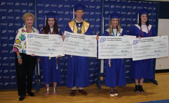 2018 Scholarships Recipients