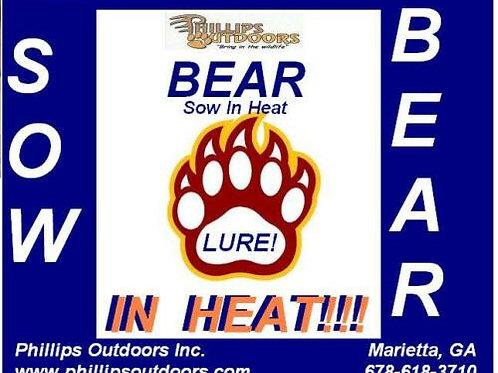 Bear Sow in Heat Lure