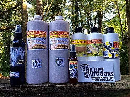 Pro Staff Whitetail Scent & Lure Kit