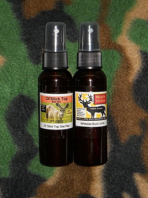 Whitetail Buck & Doe Urine Duo
