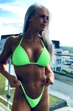 NATALIA - Neon green