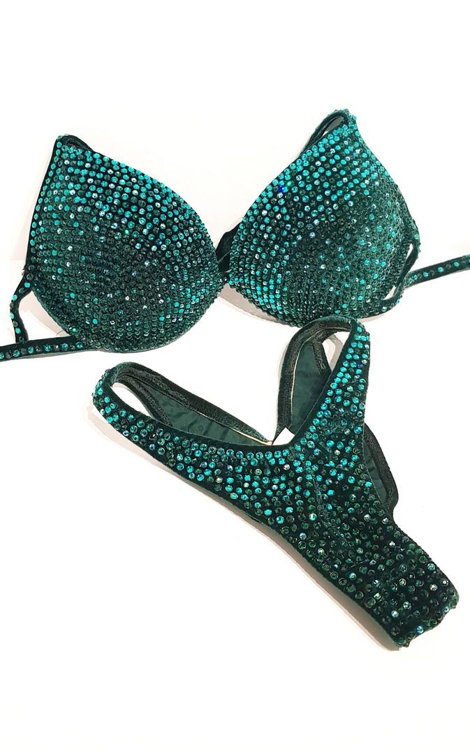 JENNY   emerald / blue zircion
