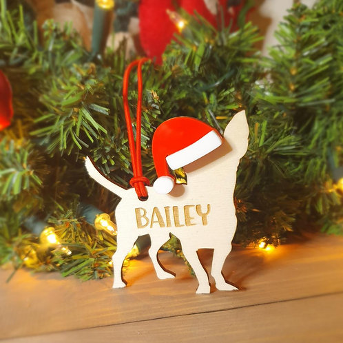 Chihuahua Personalised Decoration