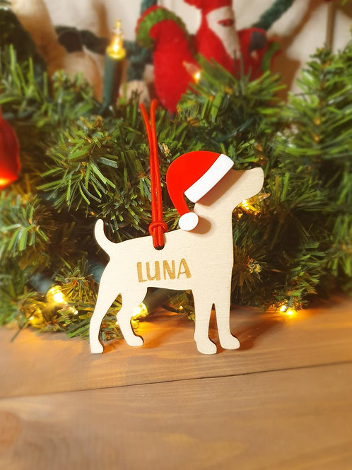 Jack Russell Personalised Decoration
