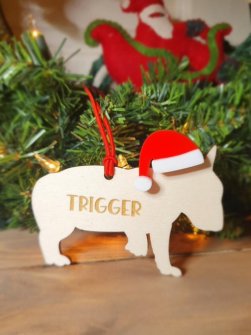 Bull Terrier Personalised Decoration