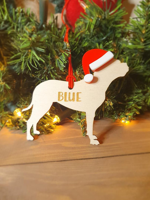 Bullmastiff Personalised Decoration