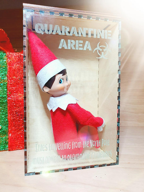 Elf Quarantine Pod!