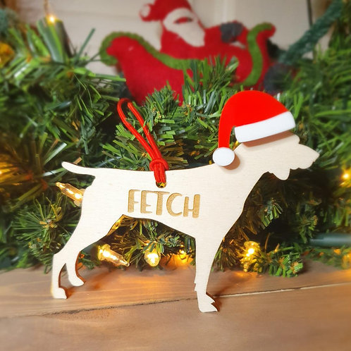Pointer Personalised Decoration