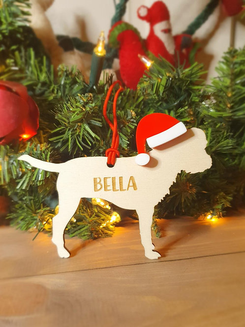 Border Terrier Personalised Decoration