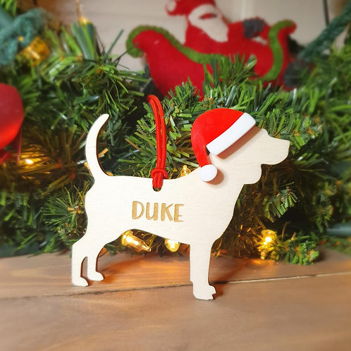 Beagle Personalised Decoration