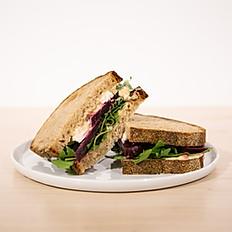 Roast beet sandwich
