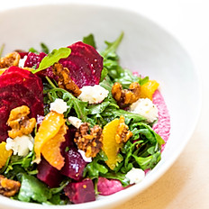 Beet, walnut + citrus salad