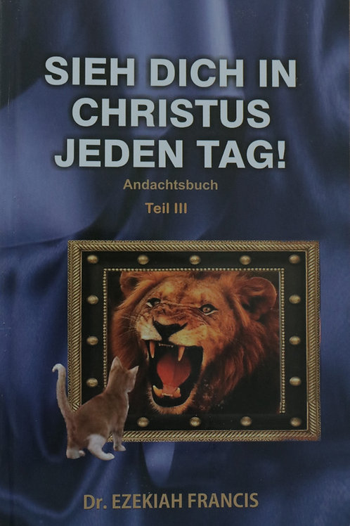 Sieh dich selbst in Christus jeden Tag III