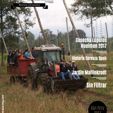 Tremendo reportaje de Top Beer Magazine de lo que fue la cosecha de Lúpulos Hueimen 2017