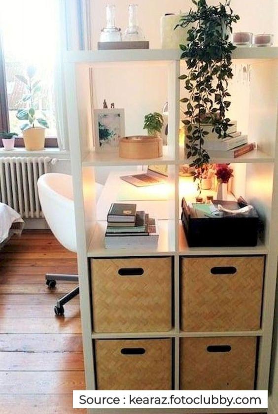 Un meuble séparateur de pièce