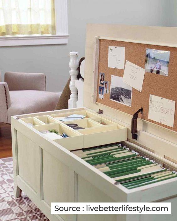 Un coffre bureau