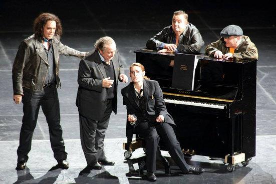 """Tanzmeister in """"Ariadne auf Naxos"""""""