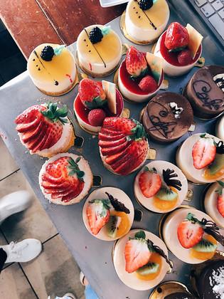Lilikoi Cheesecake, Guava Cheesecake, Strawberry Cheesecake, Le Cafe, Chocolate Lilikoi
