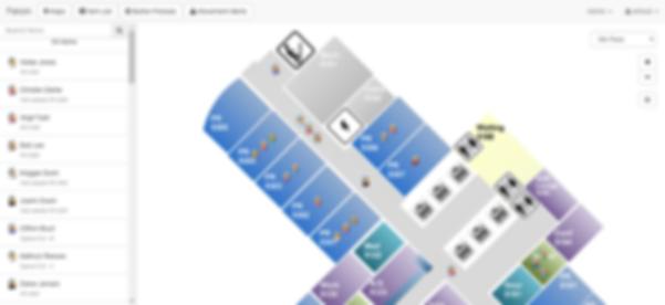Cetani Visibility Platform - Staff Alert Map View