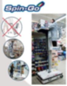 Modelo unipersonal para tiendas