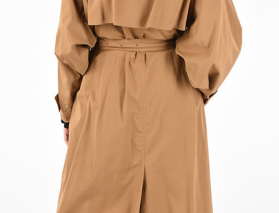 BOTTEGA VENETA COTTON WRAP DRESS WITH BELT