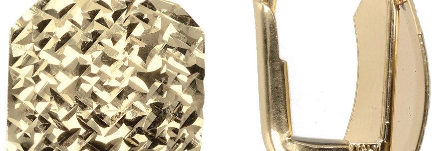 Milor DIAMOND CUT Square Earrings