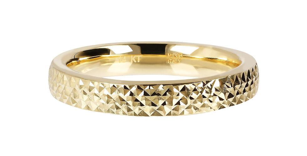 다이아몬드 커팅 14kt 반지