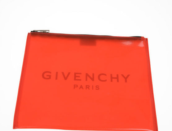 GIVENCHY ZIPPED PVC POUCH