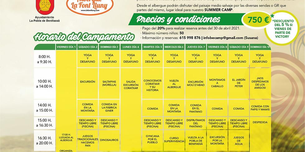 Summer Camp La Font Lluny