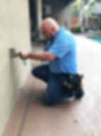 Henry performing home inspection south florida