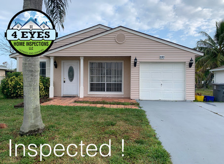 Sellers present during a Home Inspection