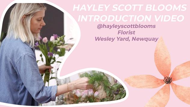 Hayley Scott Blooms Florst