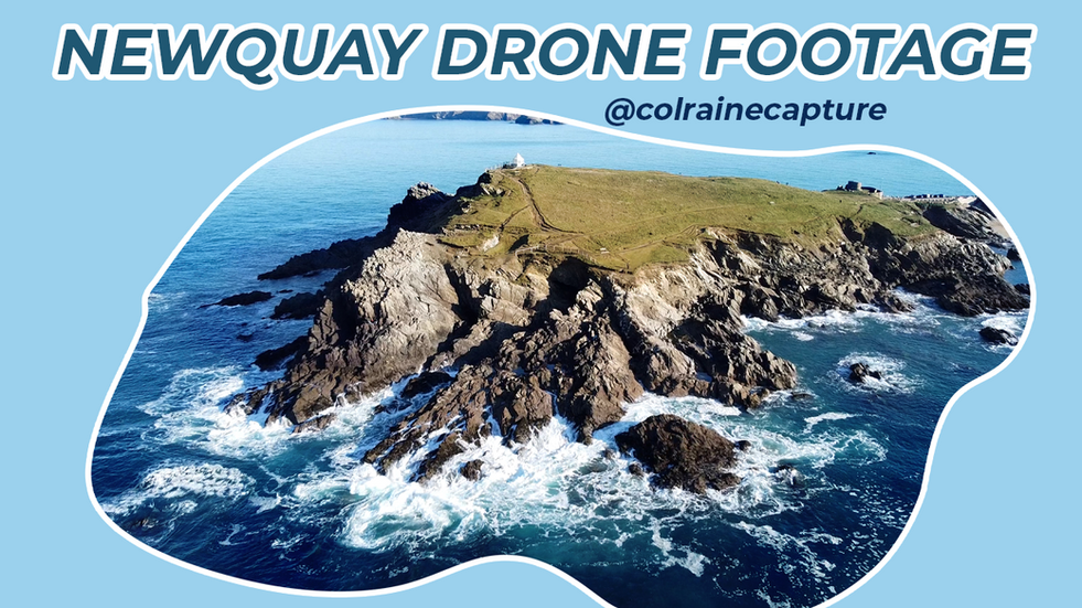 Newquay by Drone