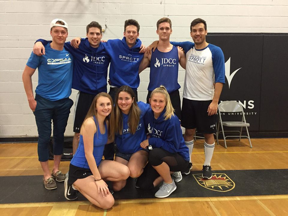Your 2018 Dodgeball Champions: JDCC Sprott!