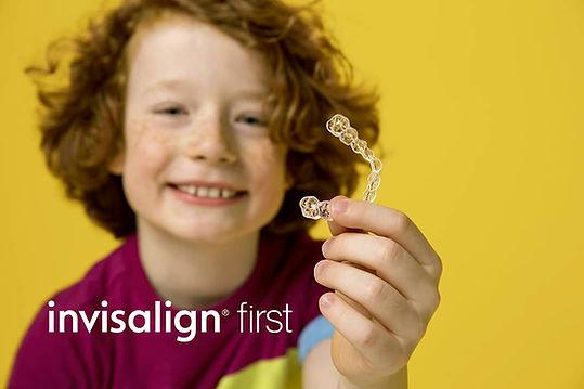 aparelho infantil-invisalign-first