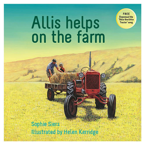 Allis helps on the farm - Millwood Press 2016