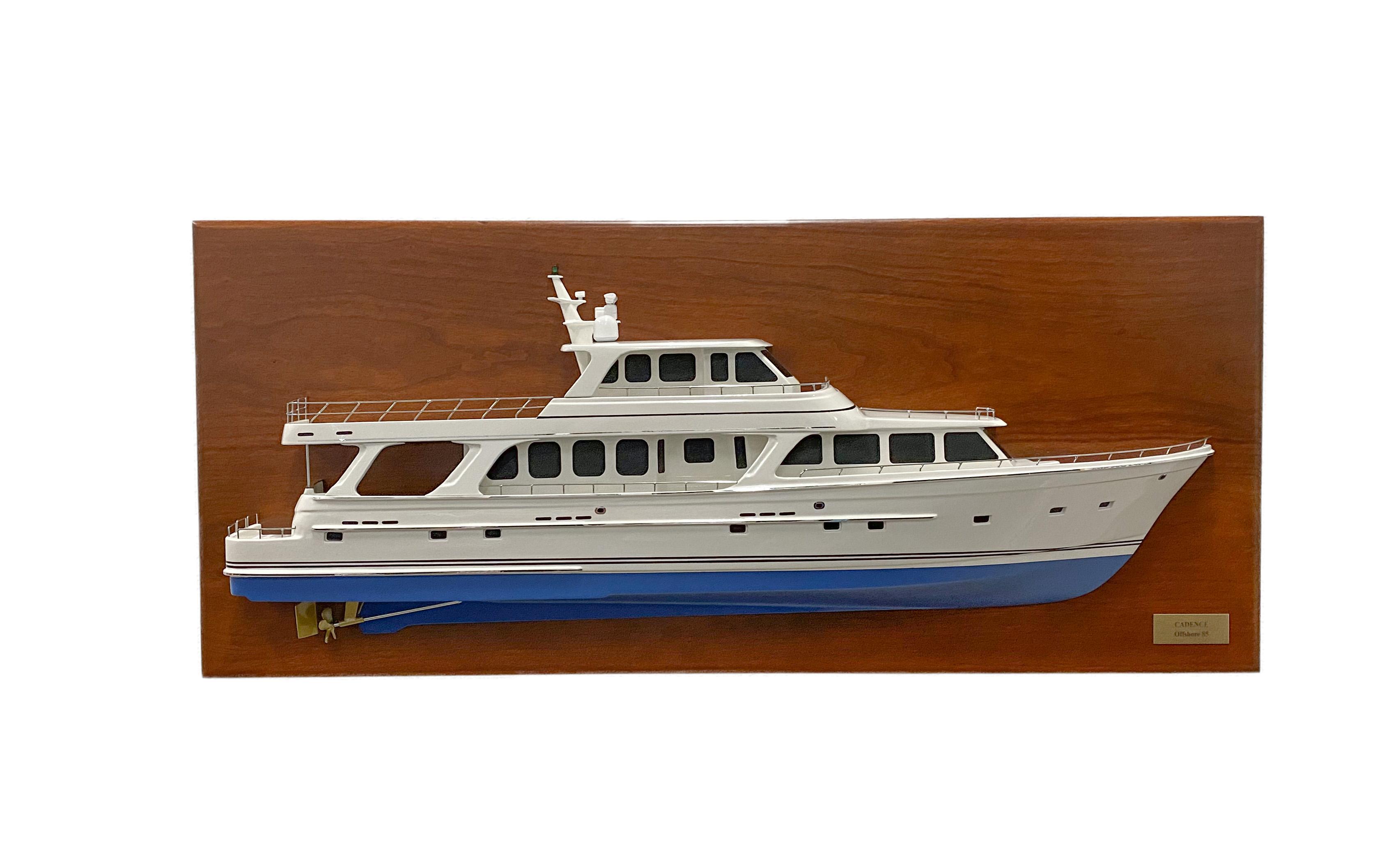 Offshore 85 Scale Half Model
