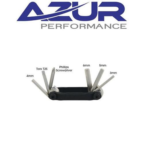 Azur Performance Multi Tool - 6 Function