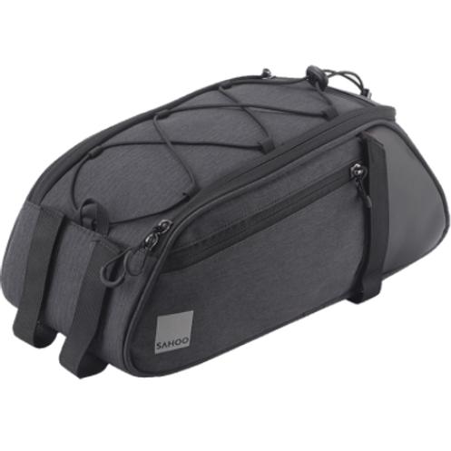 Sahoo 8L Essential Series Convertible Bike Trunk Bag | Black
