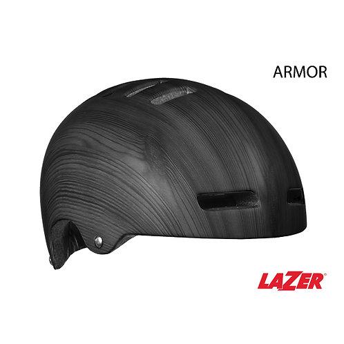 Lazer Armor Dark Wood w/LED