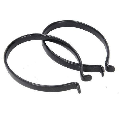Oxford Trouser Clips PCV Coated. Pair.
