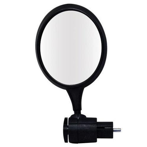 Proseries mirror for handlebar end plug.