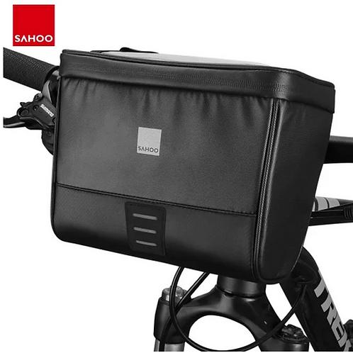 Sahoo 2L Cycling Bike Bag Handlebar Front Tube Basket Bag Waterproof Bag