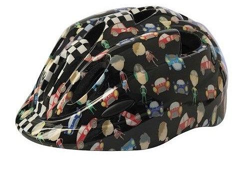 Azur Cars kids helmet 50-54cm