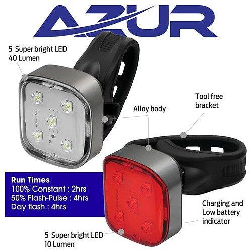 Azur USB Strobe 40/10 Light Set