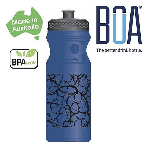 BOA Waterbottle Blue 650 ml
