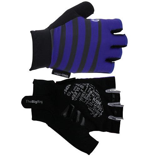 Big Ring Road Black/Navy Bands Gloves