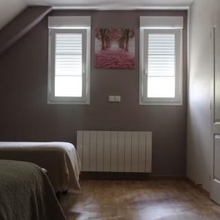 Chambre à l'étage/ gîte