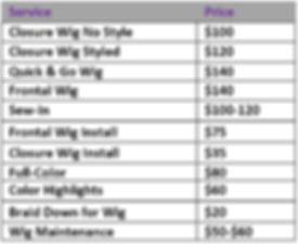 Sassy Sista's Pricing.PNG