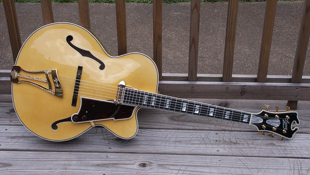 Premier Archtop Custom Tailpiece